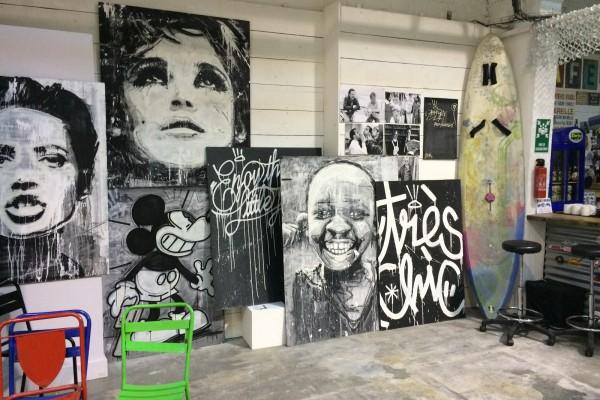 Magasins éphémères événement studio wakup red is dead