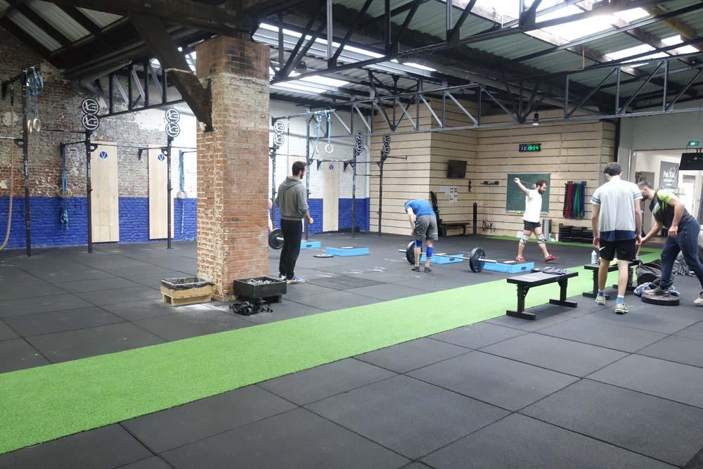 Le CrossFit, à louer pour prises de vues