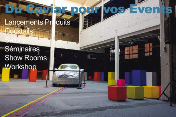 Lieux => EVENEMENTS