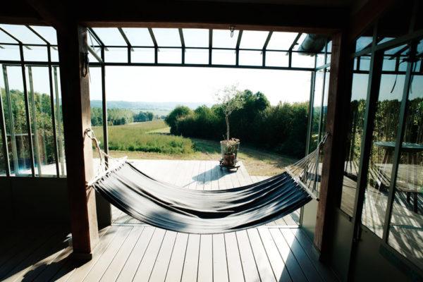 La Terrasse, lieu de prises de vues